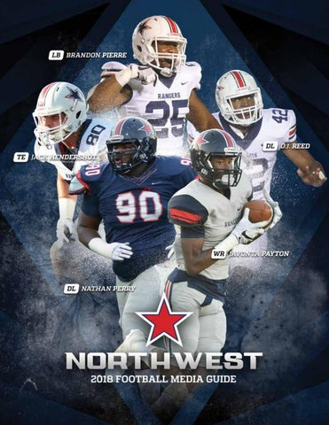 09c8ad6a2 2018 Northwest Football Media Guide by Northwest Mississippi CC - issuu