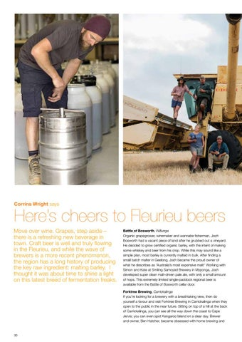 Page 32 of Here's cheers to Fleurieu beers