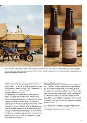 Page 33 of Here's cheers to Fleurieu beers