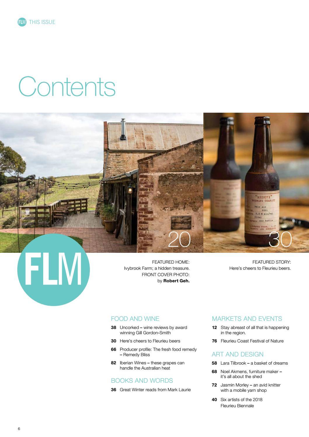 Fleurieu Living Magazine Winter 2018 by Fleurieu Living Pty
