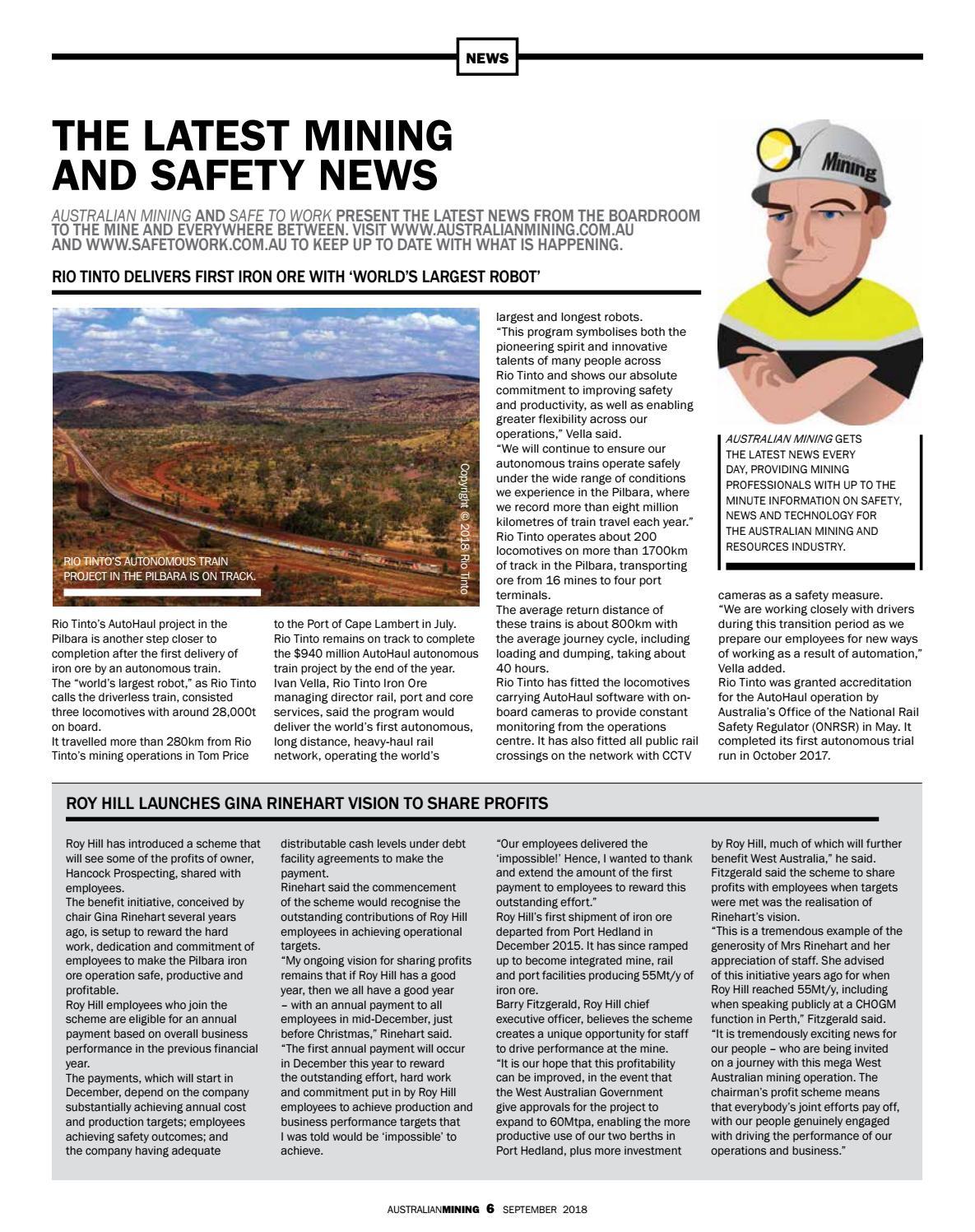Australian Mining - Sep 2018