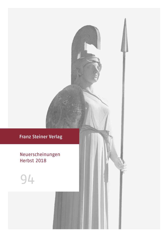 Neuerscheinungen Herbst 2018 by Franz Steiner Verlag - issuu