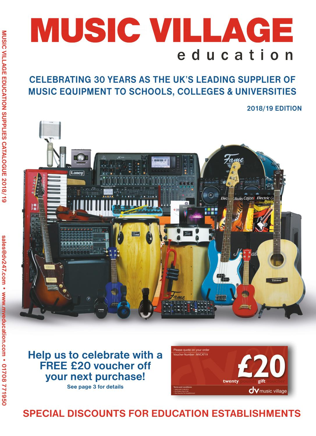 Music Village Education 2018 2019 Edition By Dv247 Issuu Model No 351 211811 Wiring Diagram
