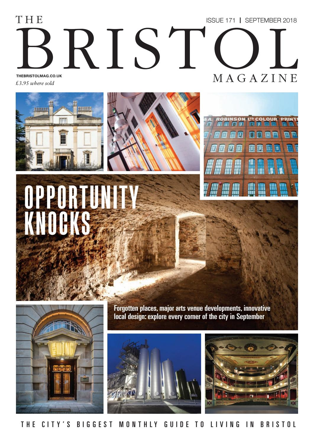 The Bristol Magazine September 2018 By Mc Publishing Limited Issuu
