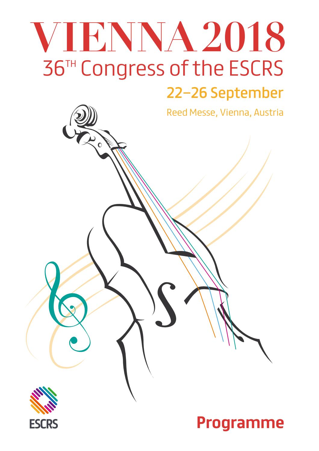 ESCRS Vienna18 Final Programme by EUROTIMES - issuu