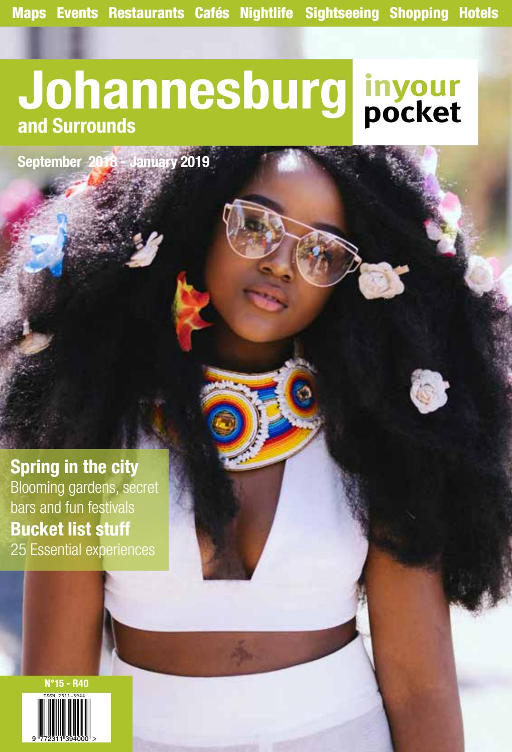 8b143359f0b Johannesburg In Your Pocket Issue 15 - September 2018 - January 2019 ...