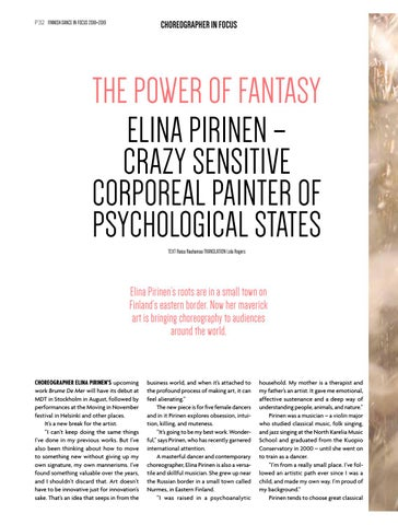 Page 32 of Elina Pirinen – crazy sensitive corporeal painter of psychological states