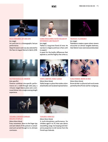Page 5 of Nordic Contemporary dance gathers in Iceland / ICE HOT