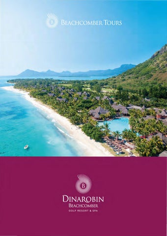 Dinarobin Beachcomber Golf Resort Spa By Travel Designers Issuu