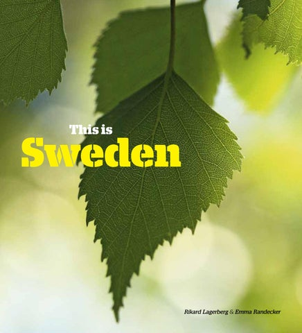Far Above Witches Gulf Dappled Sunlight >> This Is Sweden By Swedish Institute Issuu