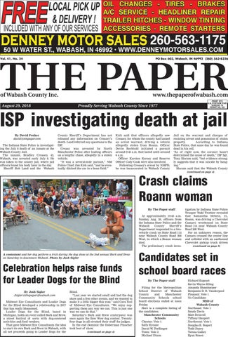 The Paper Of Wabash County Aug 28 Issue By The Paper Of Wabash