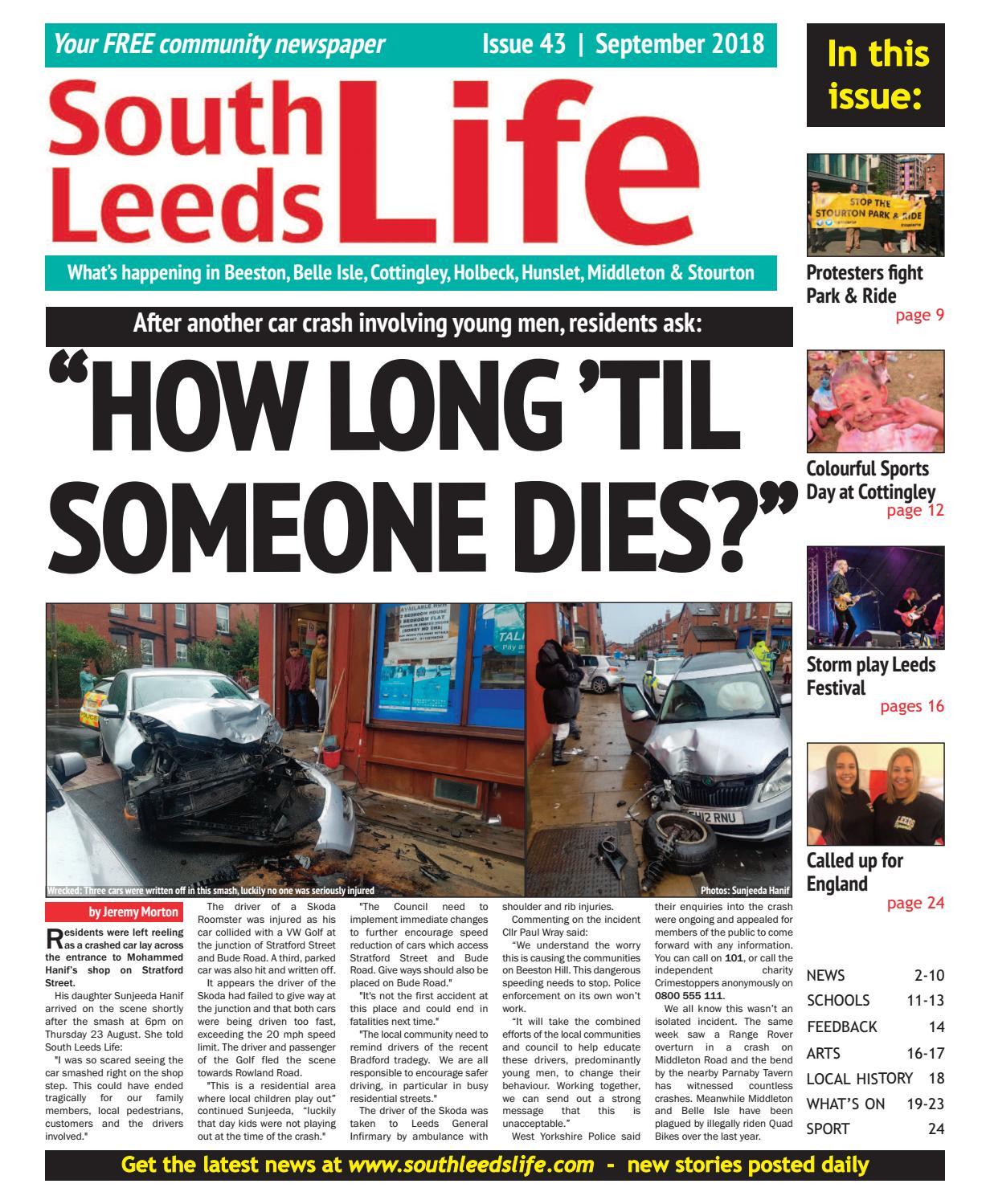 South Leeds Life 43 September 2018 by South Leeds Life - issuu