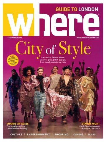1722b22a1 Where Magazine London Sep 2018 by Morris Media Network - issuu