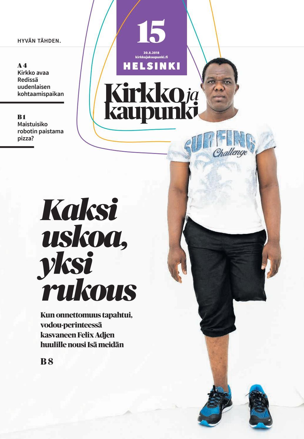 Kirkko ja kaupunki 2018 15 Helsinki by Kirkko ja kaupunki - Issuu