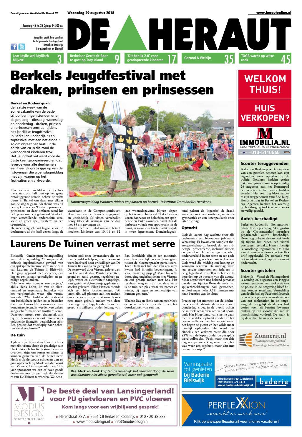 heraut_week_35_2018 by nieuwsblad de heraut issuuTeammanager Zorg En Welzijn.htm #14