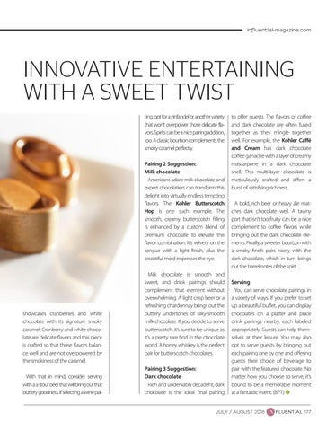 Page 177 of Chocolate Pairings: Innovative Entertaining with a Sweet Twist