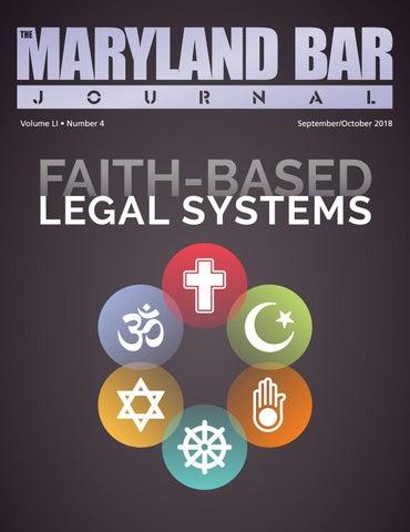 Maryland Bar Journal September October 2018 By Maryland
