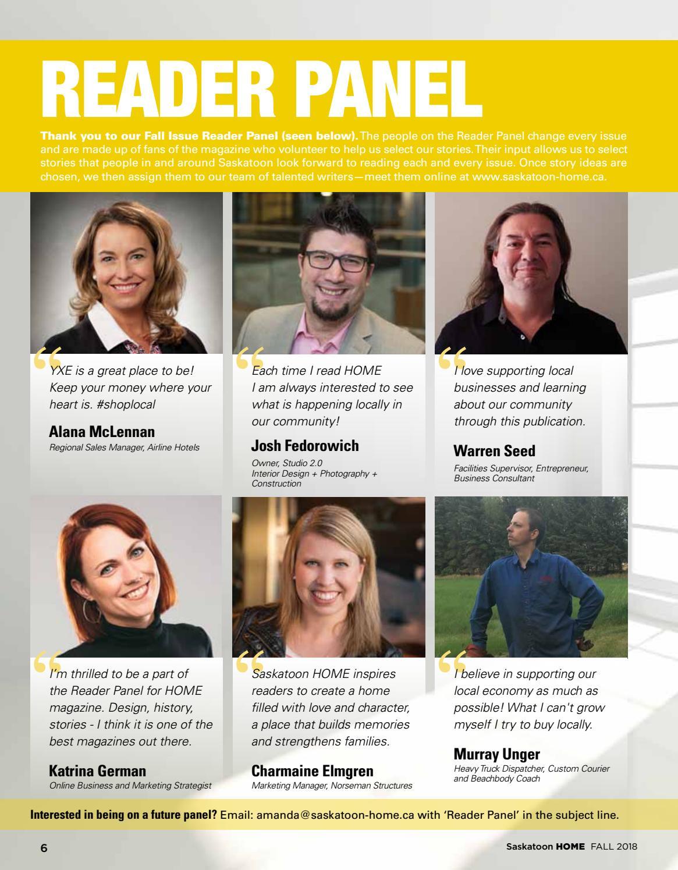 Saskatoon HOME magazine Fall 2018 by Farmhouse Communications - issuu