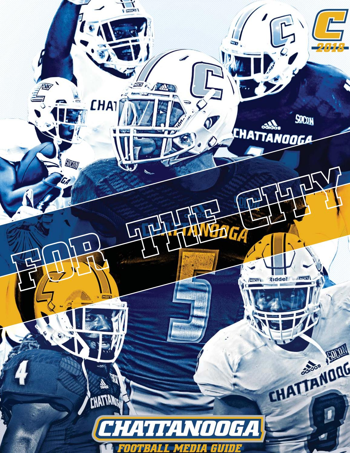 d598897ddf3 2018 Chattanooga Football Media Guide by Chattanooga Athletics - issuu