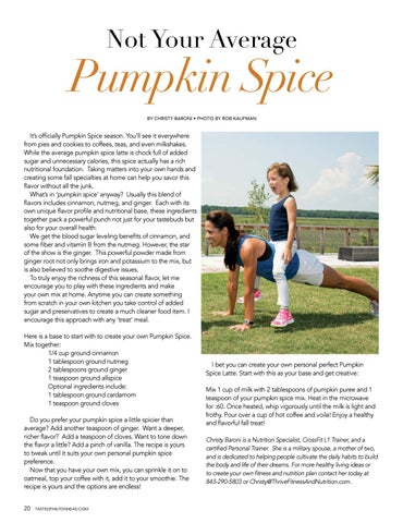 Page 20 of Not Your Average Pumpkin Spice