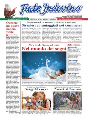 Calendario Cinese Concepimento Originale.Agosto By Edizioni Frate Indovino Issuu