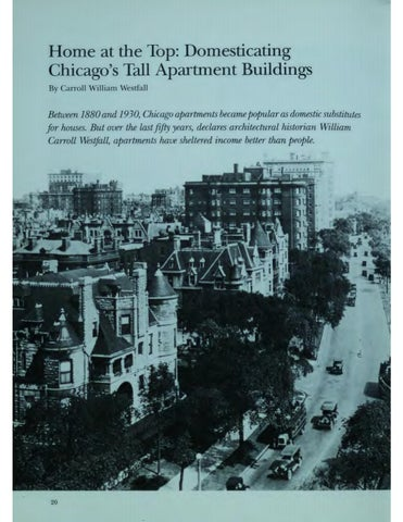 Page 22 of Home at the Top: Domesticating Chicago's Tall Apartment Buildings