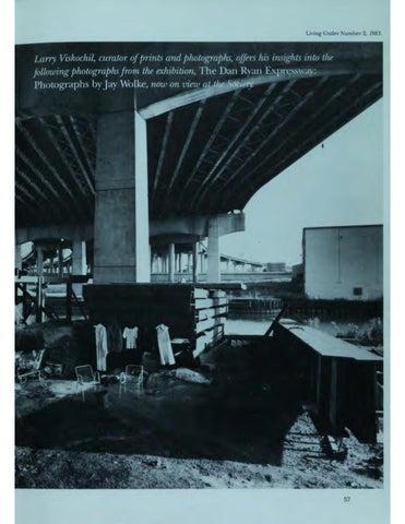"""Page 59 of At the Society: """"The Dan Ryan Expressway"""""""