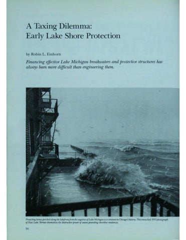 Page 36 of A Taxing Dilemma: Early Lake Shore Protection