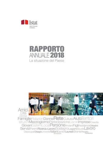 51bb2dfc38 Rapporto annuale 2018. La situazione del Paese by Istat - issuu