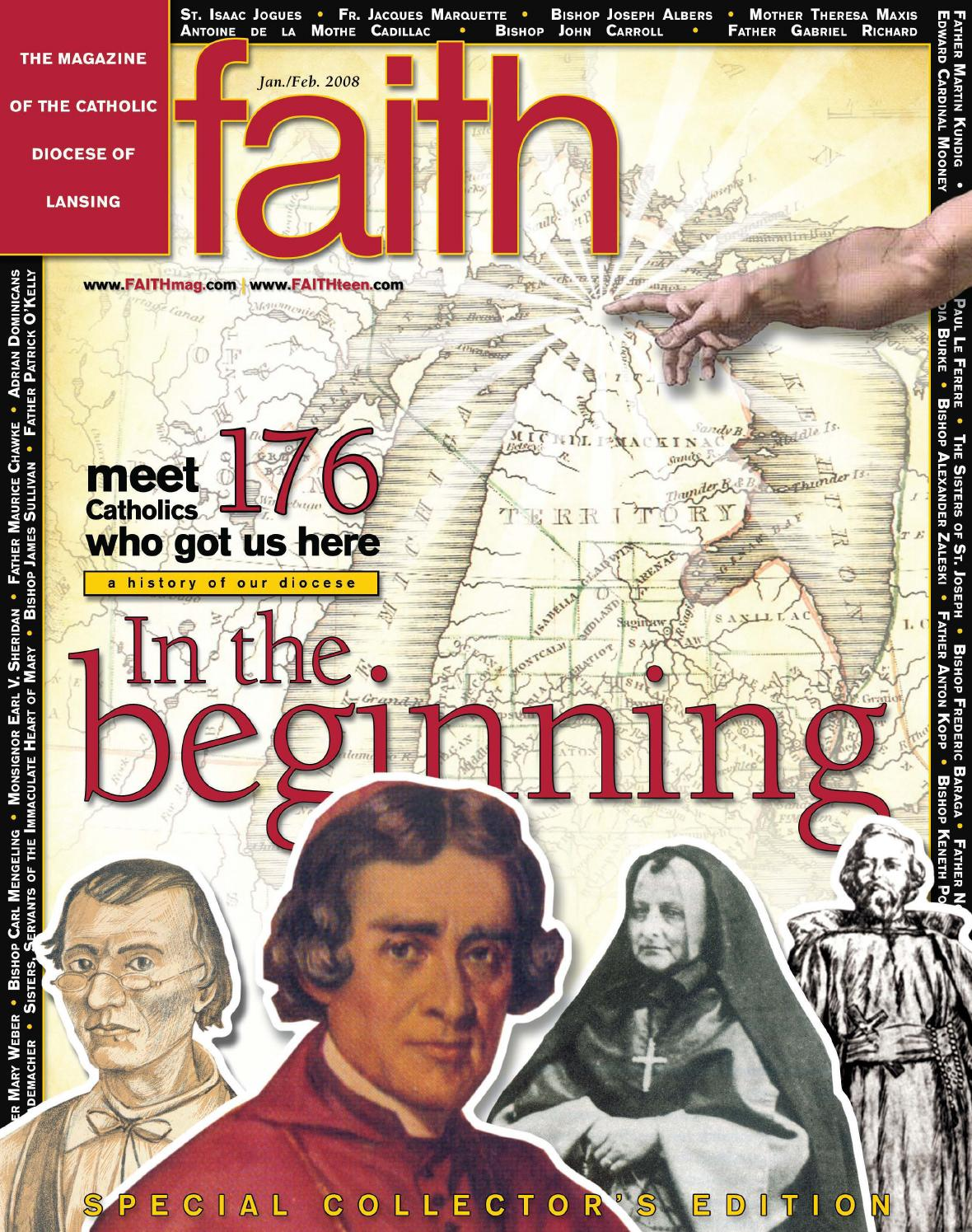 January/February 2008 by FAITH Magazine - Diocese of Lansing