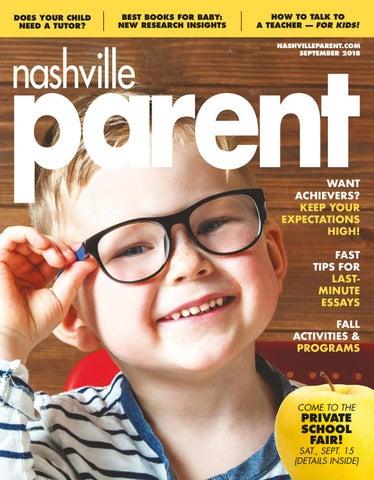 a7e4afd4c597 Nashville Parent magazine September 2018 by Day Communications ...
