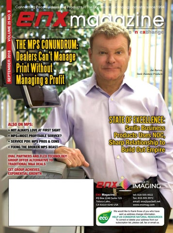 ENX Magazine September 2018 Issue by ENX Magazine - issuu