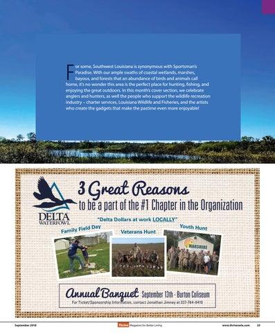 Page 25 of Southwest Louisiana: A Sportsman's Paradise