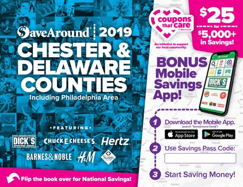 Chester Delaware Counties PA By SaveAround Issuu - Invoice maker free download rocco online store
