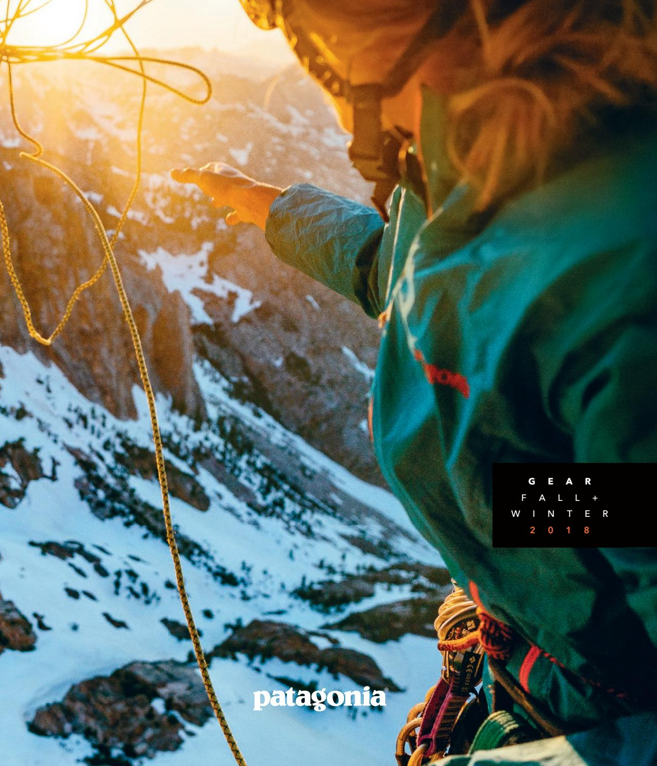 Patagonia Fall Winter Gear Guide 2018 By The Cleanest Hat Wh 97 Line Issuu