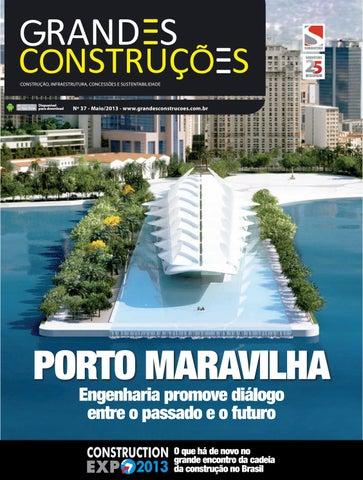 7bbbf37124 Grandes Construções - Ed. 37 - Maio 2013 by Sobratema Publicações ...