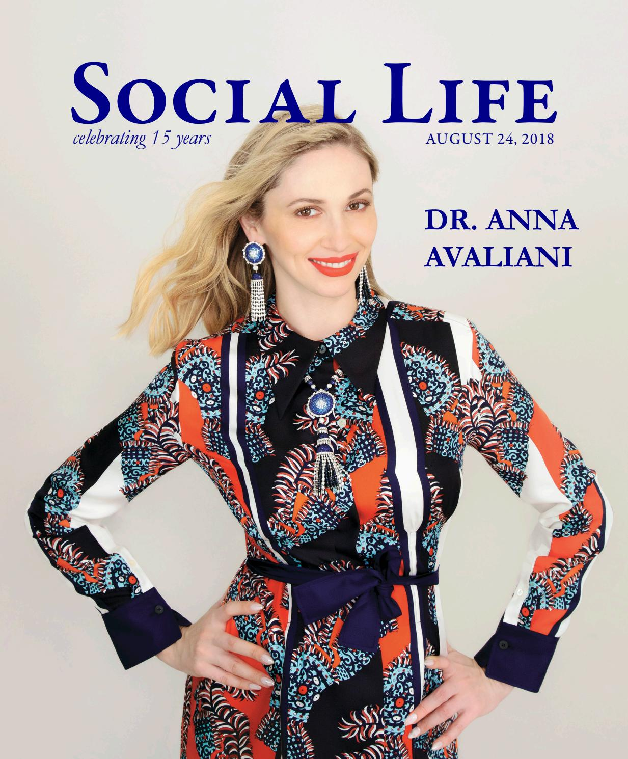 d76d514af9372b Social Life - August 24 2018 - Dr. Anna Avaliani by Social Life Magazine -  issuu