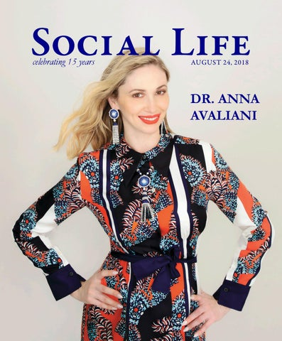 62dfbf5df Social Life - August 24 2018 - Dr. Anna Avaliani by Social Life ...