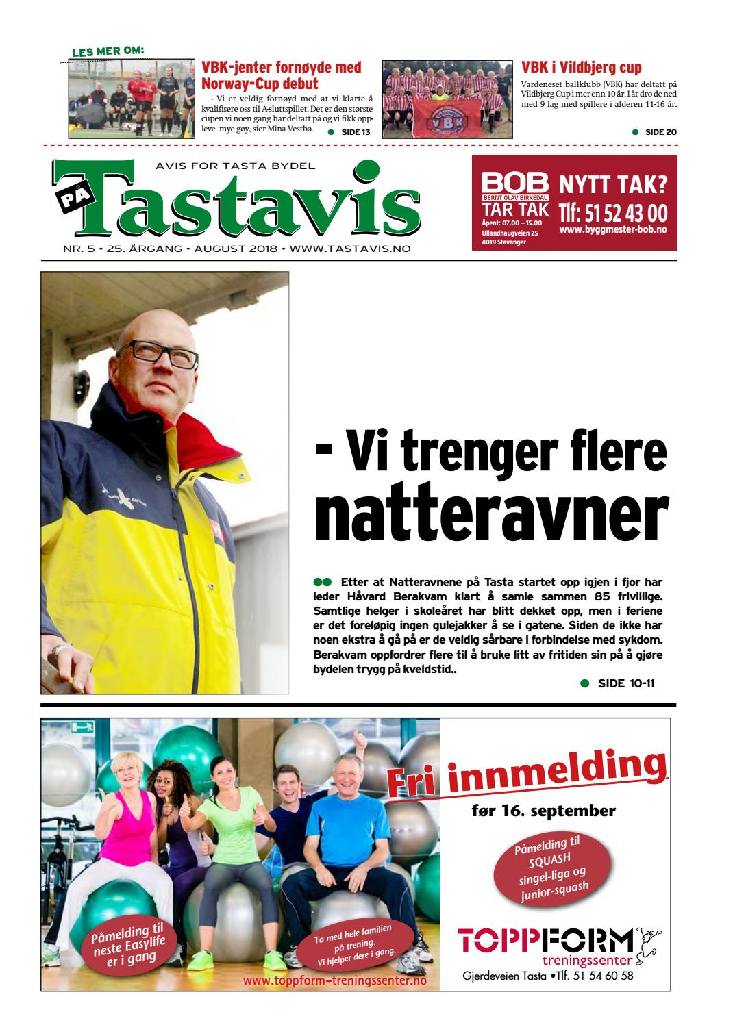 7280a07d Tastavis august 2018 by Torstein Oliversen - issuu