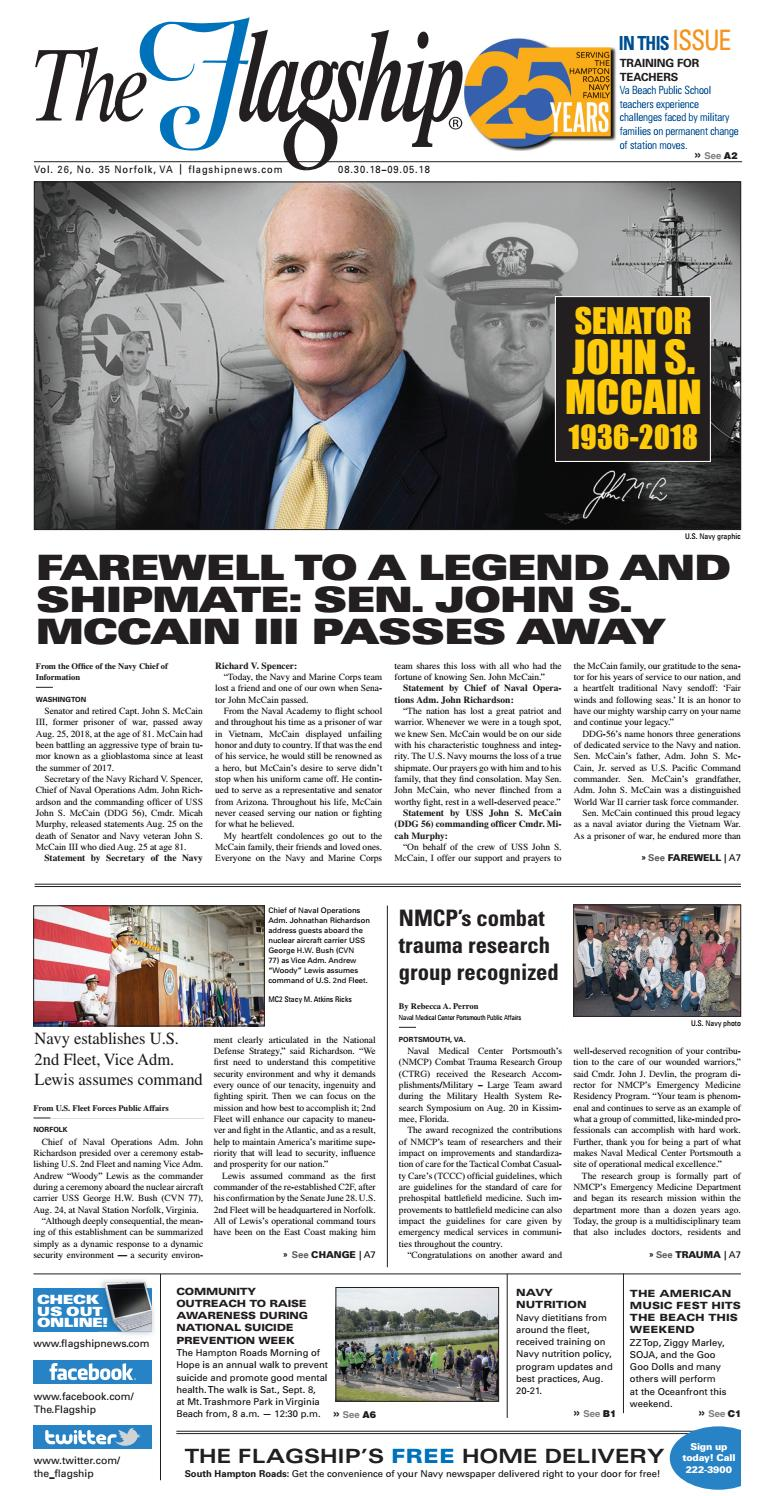 The Flagship Edition 08 30 2018 by Military News - issuu