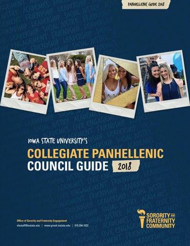 02b070c41 2018 Iowa State Collegiate Panhellenic Council Guide by Iowa State ...