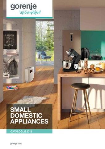 Nowoczesna architektura Small domestic appliances - Catalogue 2018 by Gorenje d.d. - issuu EB04
