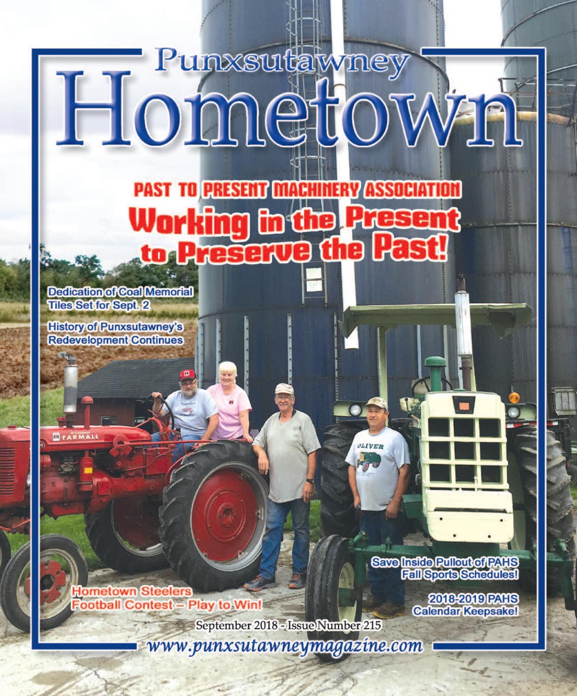 215 SEPT 2018 by Punxsutawney Hometown Magazine - issuu