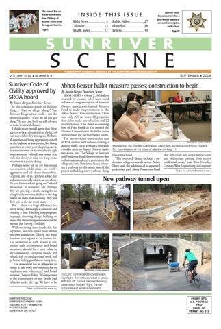 September 2018 Sunriver Scene by Sunriver Scene - issuu