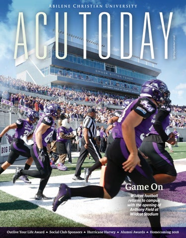 3f418bcff9d6 ACU Today Spring Summer 2018 by Abilene Christian University - issuu