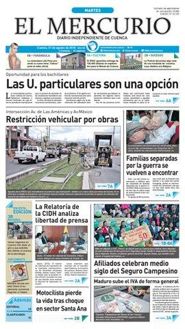 9e64bc87266c hemeroteca-21-08-2018 by Diario El Mercurio Cuenca - issuu
