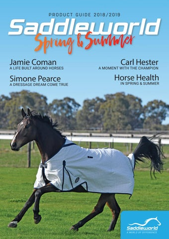 Saddleworld Product Guide Spring & Summer 2018/2019 by