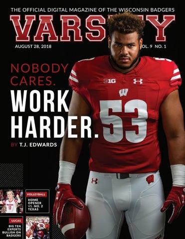 buy popular d0b32 884cc Varsity Magazine - August 28, 2018 by Wisconsin Badgers - issuu