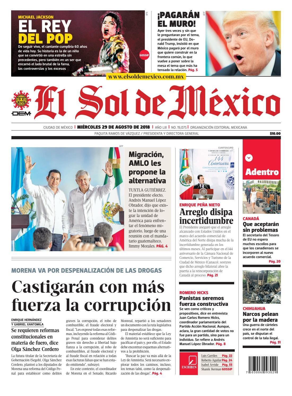 PDF El Sol de México 29 agosto 2018 by El Sol de México - issuu c2ed876627e