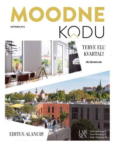 0523a4d3e87 Moodne Kodu (september 2018) by AS Ekspress Meedia - issuu